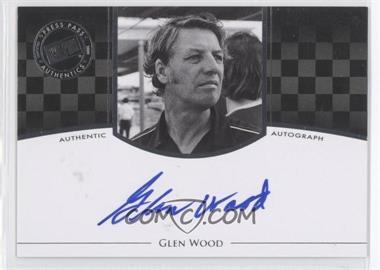 2009 Press Pass Legends - Authographs - Silver #GLWO - Glen Wood