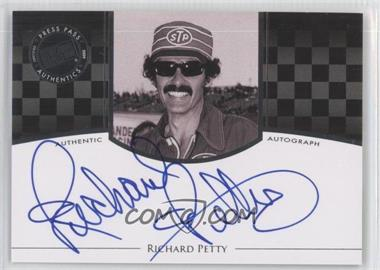 2009 Press Pass Legends - Authographs - Silver #RIPE - Richard Petty