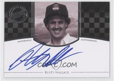 2009 Press Pass Legends - Authographs #RUWA - Rusty Wallace