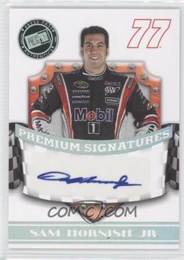 2009 Press Pass Premium - Premium Signatures #N/A - Sam Hornish Jr.