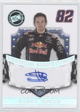 2009 Press Pass Premium - Premium Signatures #N/A - Scott Speed