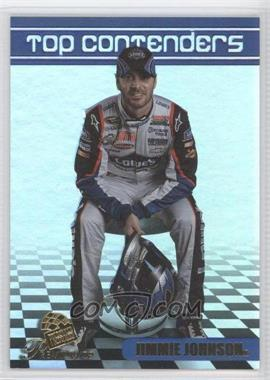 2009 Press Pass Premium - Top Contenders - Gold #TC 9 - Jimmie Johnson