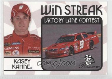 2009 Press Pass Premium - Win Streak Contest Cards #KAKA - Kasey Kahne