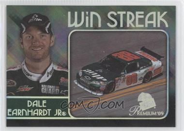2009 Press Pass Premium - Win Streak #WS 4 - Dale Earnhardt Jr.