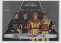 Clint Bowyer, Jeff Burton, Kevin Harvick, Casey Mears #/499