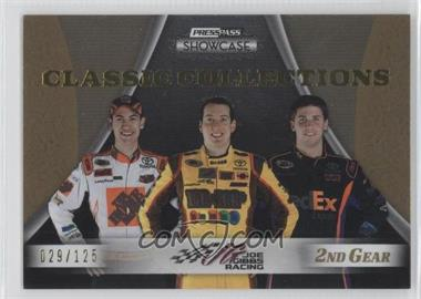 2009 Press Pass Showcase - [Base] - 2nd Gear #30 - Kyle Busch, Denny Hamlin, Joey Logano /125