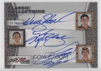 Joey Logano, Kyle Busch, Denny Hamlin #36/45
