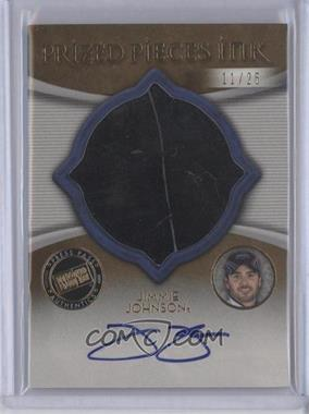 2009 Press Pass Showcase - Prized Pieces Ink - Gold #PPT-N/A - Jimmie Johnson /25
