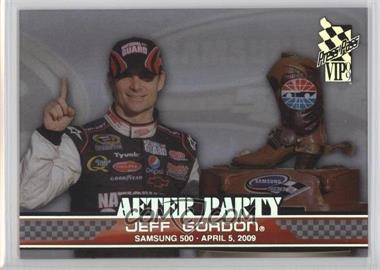 2009 Press Pass VIP - After Party - Transparent #AP 7 - Jeff Gordon