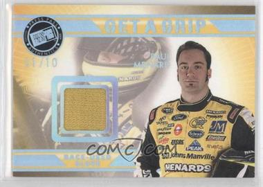 2009 Press Pass VIP - Get a Grip Gloves - Holofoil #GG-PM - Paul Menard /10