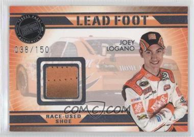 2009 Press Pass VIP - Lead Foot #LF-JL - Joey Logano /150