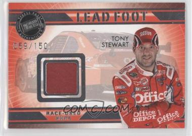 2009 Press Pass VIP - Lead Foot #LF-TS - Tony Stewart /150