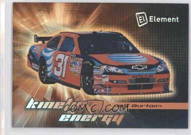 2009 Wheels Element - Kinetic Energy #KE 10 - Jeff Burton
