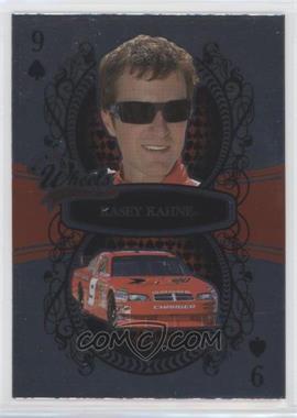 2009 Wheels Main Event - [Base] - Foil #6 - Kasey Kahne