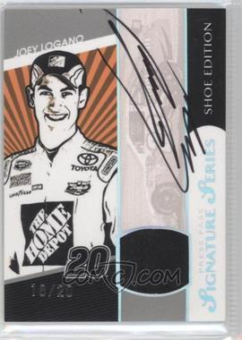 2010 Press Pass - Signature Series - Shoe Edition #SSSE-JL - Joey Logano /20