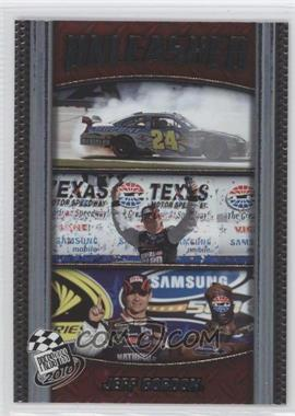 2010 Press Pass - Unleashed #U2 - Jeff Gordon