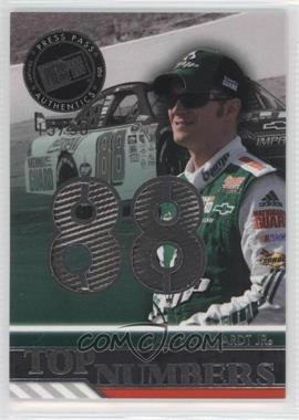 2010 Press Pass - Wal-Mart Top Numbers Race-Used #TNW-DE - Dale Earnhardt Jr. /50