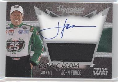 2010 Press Pass Five Star - Signature Souvenirs - Dusted Aluminum #SS-N/A - John Force /50