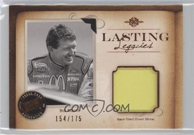 2010 Press Pass Legends - Lasting Legacies Memorabilia - Copper #LL-BE2 - Bill Elliott /175