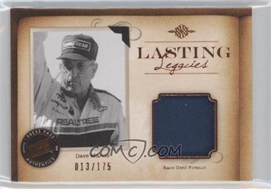 2010 Press Pass Legends - Lasting Legacies Memorabilia - Copper #LL-DM - Dave Marcis /175