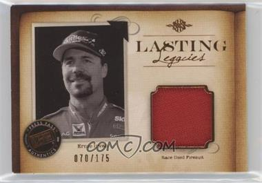 2010 Press Pass Legends - Lasting Legacies Memorabilia - Copper #LL-EI - Ernie Irvan /175
