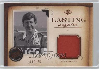 2010 Press Pass Legends - Lasting Legacies Memorabilia - Copper #LL-NB - Neil Bonnett /175