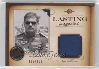 2010 Press Pass Legends - Lasting Legacies Memorabilia - Copper #LL-TL - Terry Labonte /150
