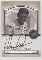 Donnie Allison /99