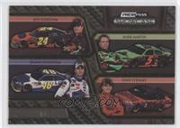 Jeff Gordon, Mark Martin, Jimmie Johnson, Tony Stewart /125