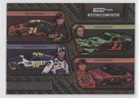 Jeff Gordon, Mark Martin, Jimmie Johnson, Tony Stewart /125