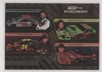 Dale Earnhardt Jr., Danica Patrick, Jeff Gordon, Tony Stewart #/125