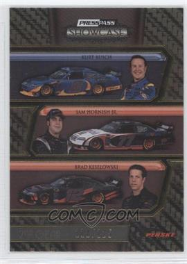 2010 Press Pass Showcase - [Base] - Gold 2nd Gear #36 - Kurt Busch, Sam Hornish Jr., Brad Keselowski /125