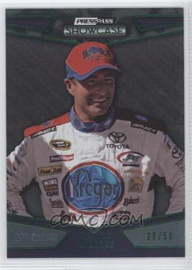 2010 Press Pass Showcase - [Base] - Green 3rd Gear #17 - Marcos Ambrose /50