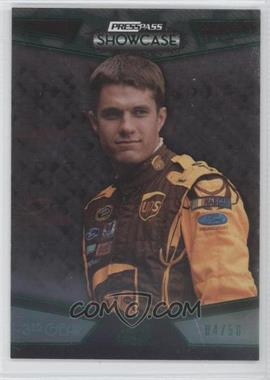 2010 Press Pass Showcase - [Base] - Green 3rd Gear #25 - David Ragan /50