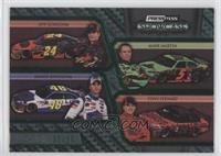 Jeff Gordon, Mark Martin, Jimmie Johnson, Tony Stewart #/50