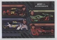 Jeff Gordon, Mark Martin, Jimmie Johnson, Tony Stewart /499