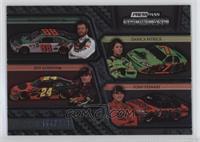 Dale Earnhardt Jr., Danica Patrick, Jeff Gordon, Tony Stewart #/499