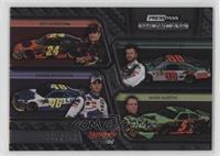 Jeff Gordon, Jimmie Johnson, Dale Earnhardt Jr., Mark Martin /499