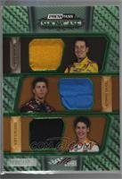 Kyle Busch, Denny Hamlin, Joey Logano [Noted] #/25
