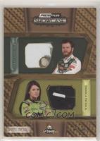 Dale Earnhardt Jr., Danica Patrick #/45