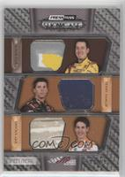 Kyle Busch, Denny Hamlin, Joey Logano #/99