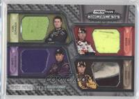 Carl Edwards, Matt Kenseth, Greg Biffle, David Ragan #/99