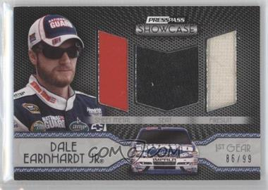 2010 Press Pass Showcase - Elite Exhibit Memorabilia - 1st Gear #EEM-DEJ - Dale Earnhardt Jr. /99