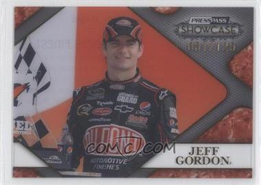2010 Press Pass Showcase - Racing's Finest - Gold #RF 10 - Jeff Gordon /125