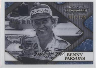 2010 Press Pass Showcase - Racing's Finest - Gold #RF 6 - Benny Parsons /125