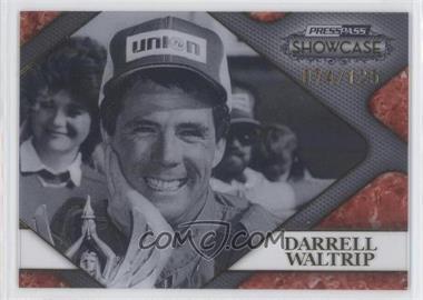 2010 Press Pass Showcase - Racing's Finest - Gold #RF 7 - Darrell Waltrip /125