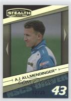 A.J. Allmendinger #/25