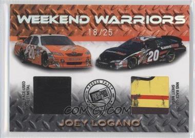 2010 Press Pass Stealth - Weekend Warriors - Holofoil #WW-JL - Joey Logano /25