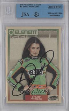 2010 Wheels Element - [Base] #59 - Danica Patrick [BGS/JSA Certified Auto]