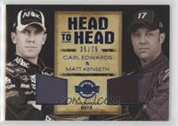 Carl Edwards, Matt Kenseth #/75